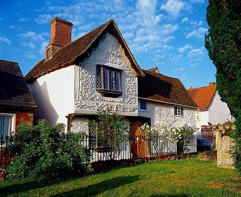 Clare, Suffolk, England.