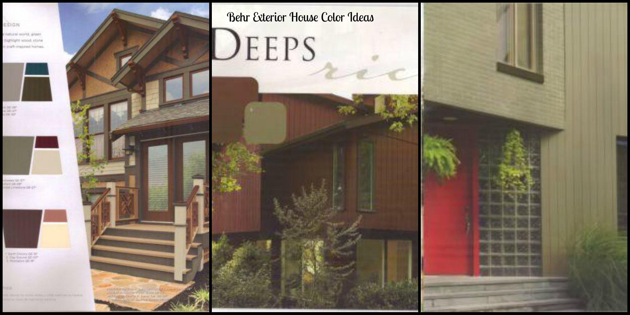Terrific Exterior House Color Ideas Behr Paint Arts And Crafts House Inspirational Interior Design Netriciaus