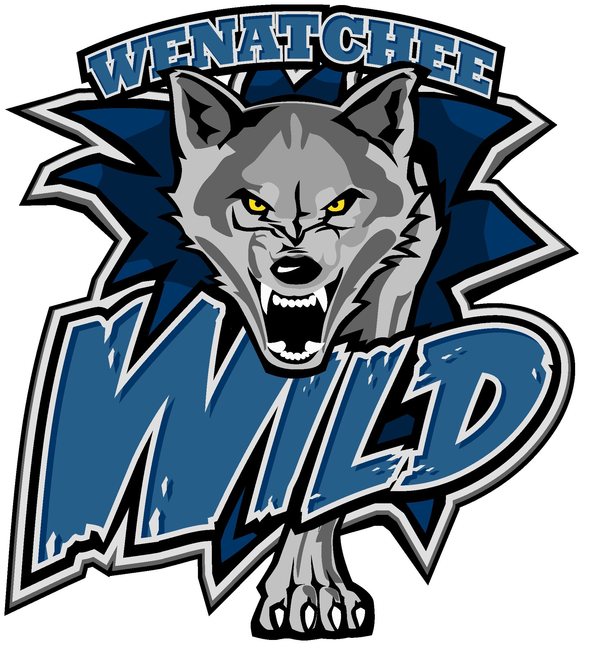 Hockey Logos Wenatchee Wild Hockey Logo These Hockey Players Flew Home On One