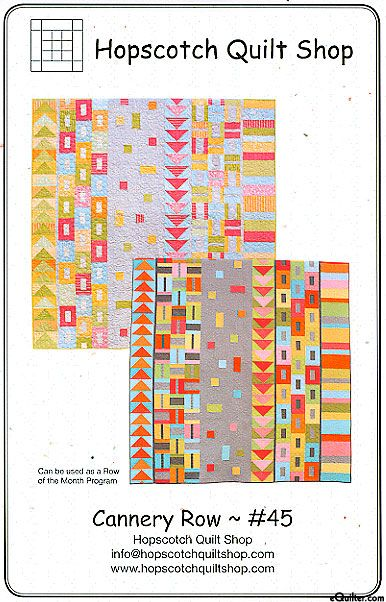 Cannery Row by Hopscotch Quilt | quilts | Pinterest | Cannery row ... : hopscotch quilt shop - Adamdwight.com