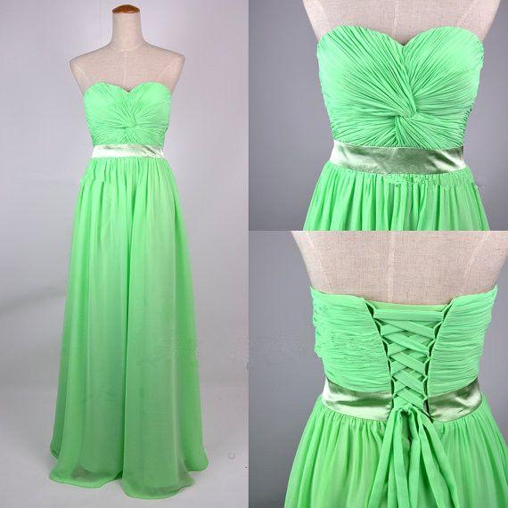 Cheap Lime Green Dresses