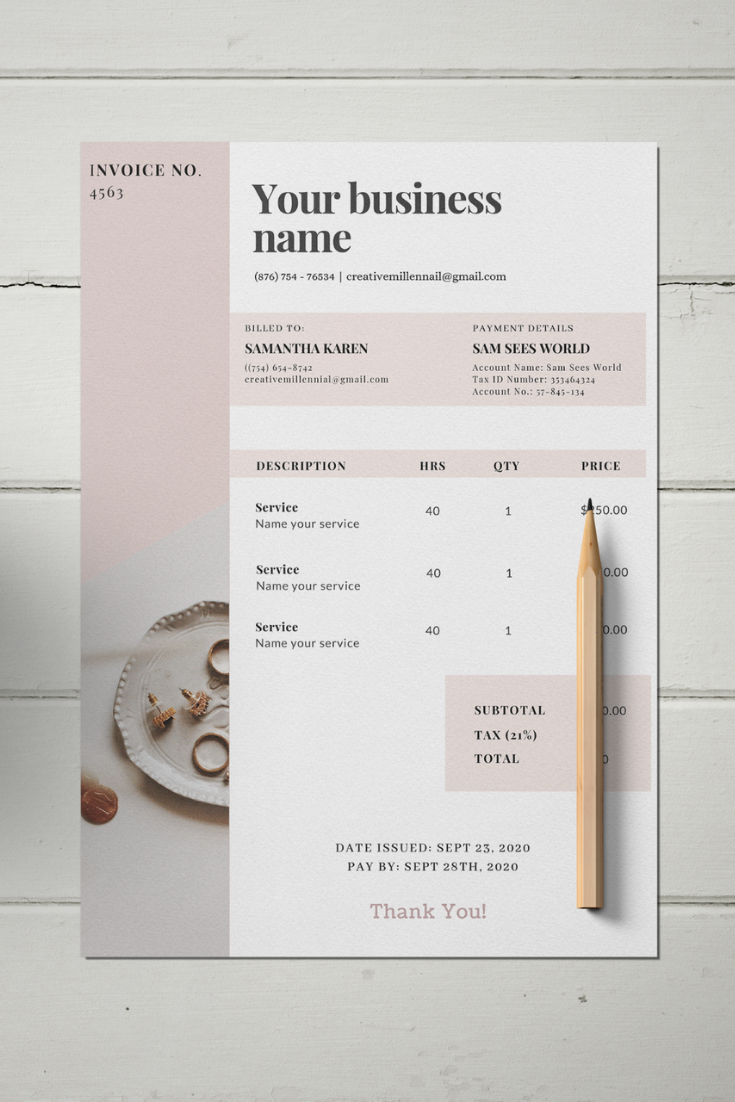 Invoice Template Canva Template Business Invoice Receipt Template Printable Invoice Invoice Design Form Printable Receipt Invoice Template Invoice Design Template Invoice Design