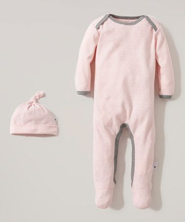 d1cb5a033 Look at this  zulilyfind! Blossom Organic Footie   Beanie - Infant ...