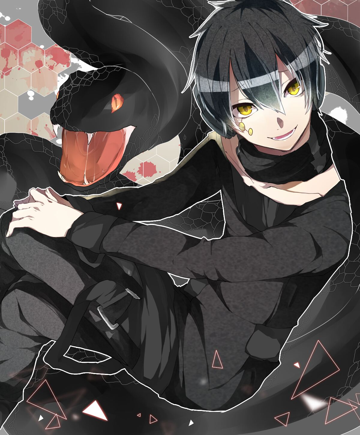 mekaku city actors kuroha mekaku city actors pinterest