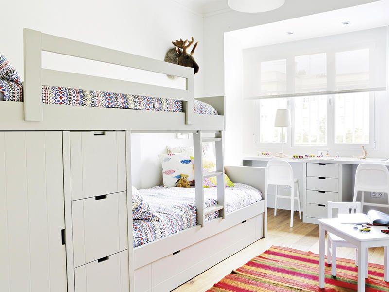 Duermes arriba o abajo c mo organizar un cuarto - Organizar habitacion infantil ...