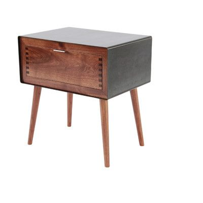 Best Haven 1 Drawer Nightstand All Modern Furniture 400 x 300