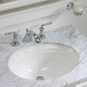 Upstairs Bath Kohler K2350 0 Devonshire Undermount Style