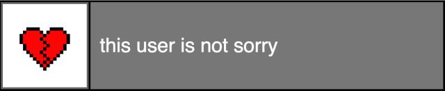 I'm not #sorry »✿❤ Mego❤✿«