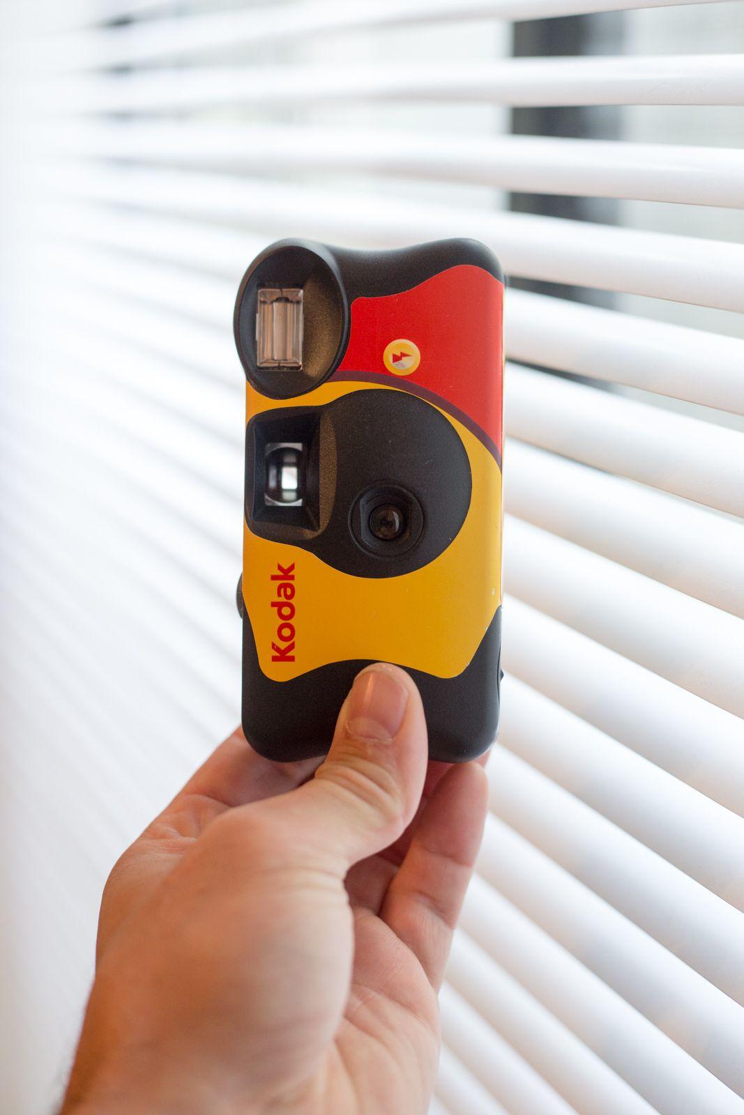 Kodak fun saver single use disposable camera review