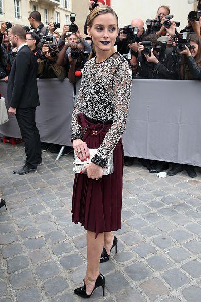 121abc2e69e5 The Olivia Palermo Lookbook   Olivia Palermo at Paris Fashion Week ...