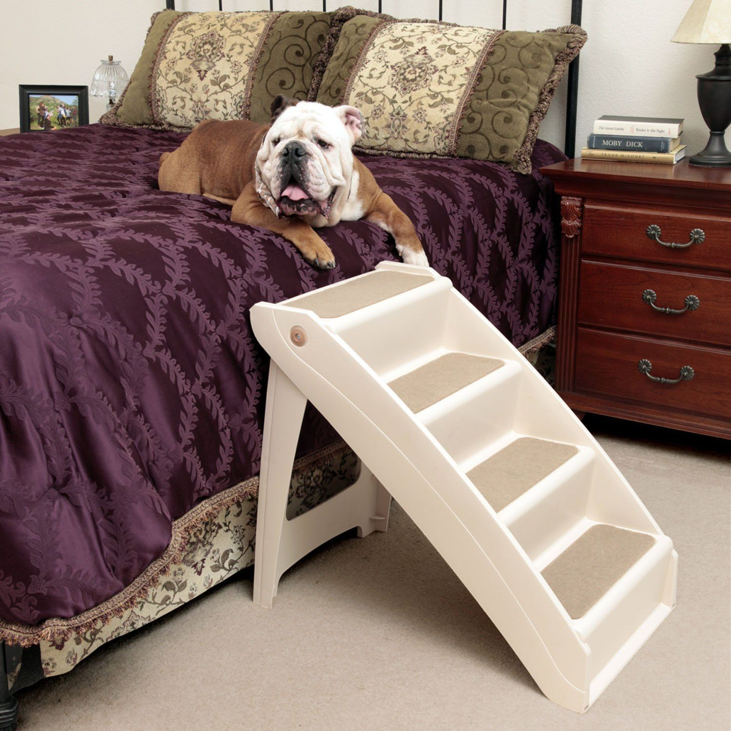 Features: L X W X H A Wider And Taller Version Of Our Bestselling PupSTEP®  Plus Stairs Perfect For Helping Pets Reach High Places,such As Tall Beds