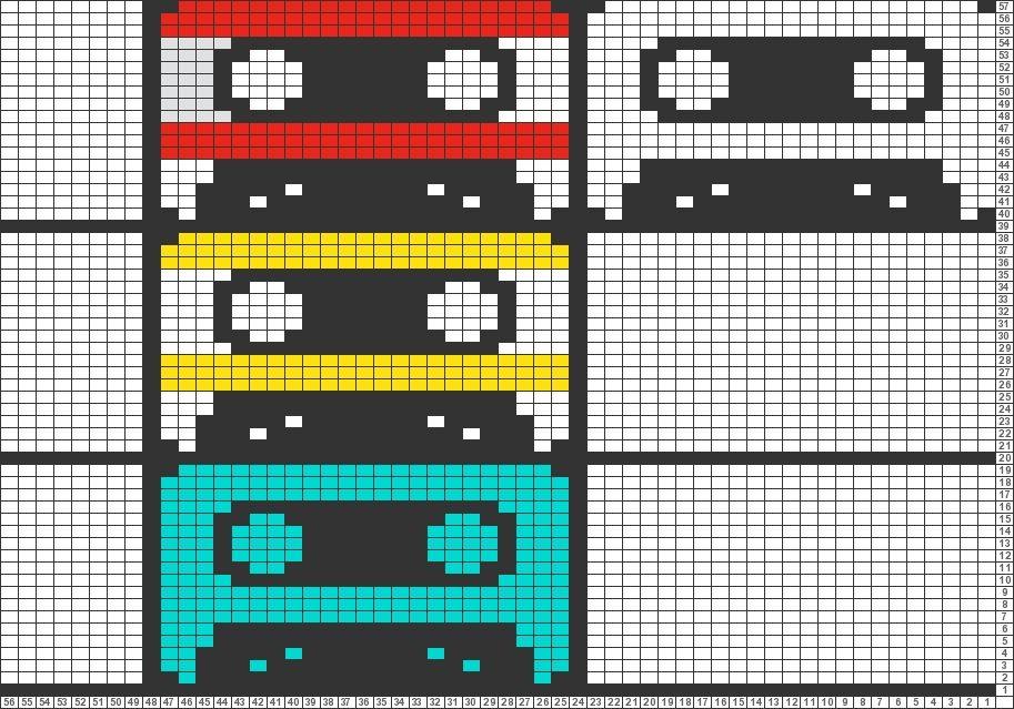 Colorful Graph Häkelanleitungen Ideas - Decke Stricken Muster ...