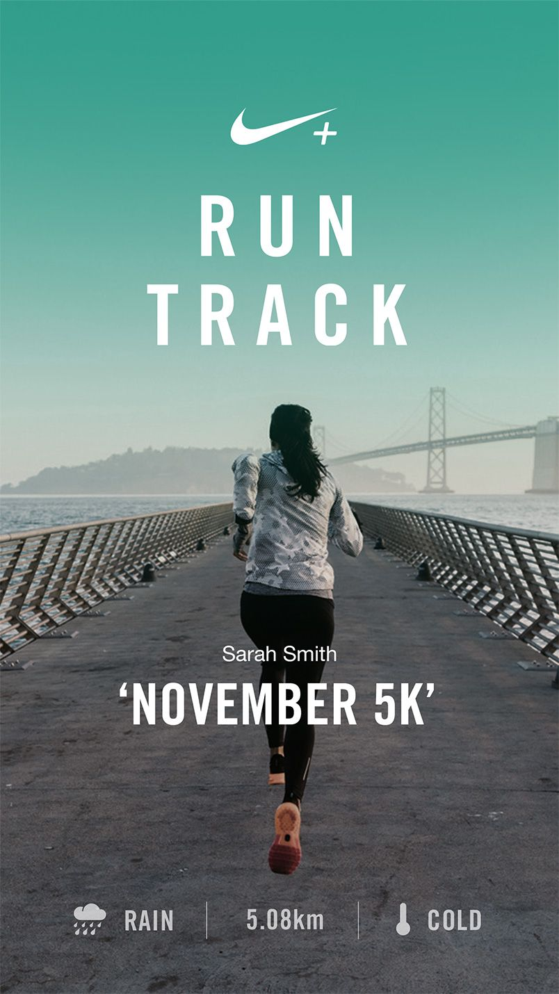 Cardenal Industrial rociar  Portfolio: Nike - Run Track | Nike poster, Sports graphic design, Running  posters