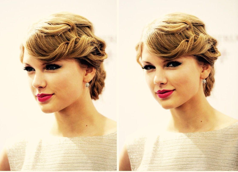 Pin by Mishael Khan on Taylor Swift | Hairdo wedding ...