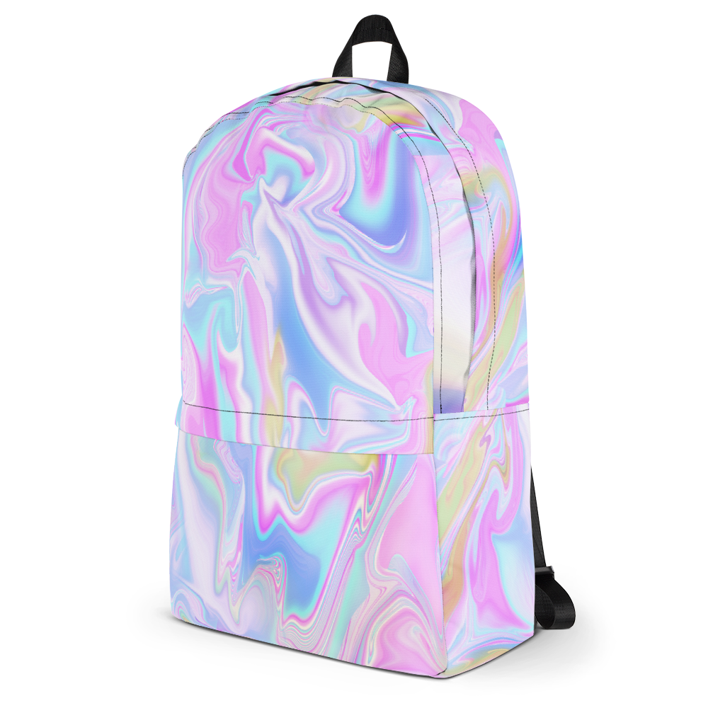 Holo Marble Tumblr Soft Grunge Backpack Sweatshop Free Made In Usa