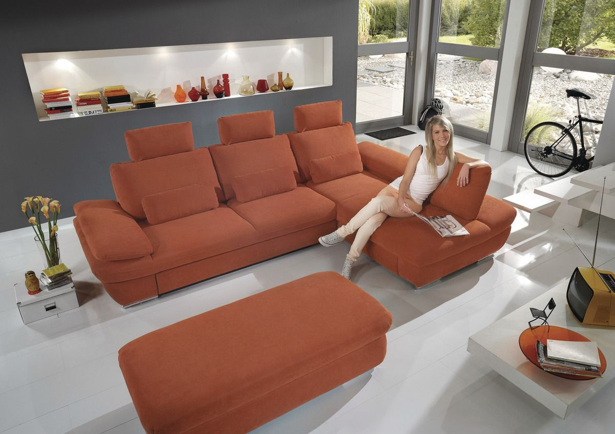 funkt polsterecke velvet 3l lcr maxxim funktions polsterecke in pflegeleichtem webstoff in. Black Bedroom Furniture Sets. Home Design Ideas