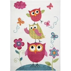 Photo of benuta children's carpet Noa Kids owl family multicolor 200×290 cm – carpet for children's room benuta