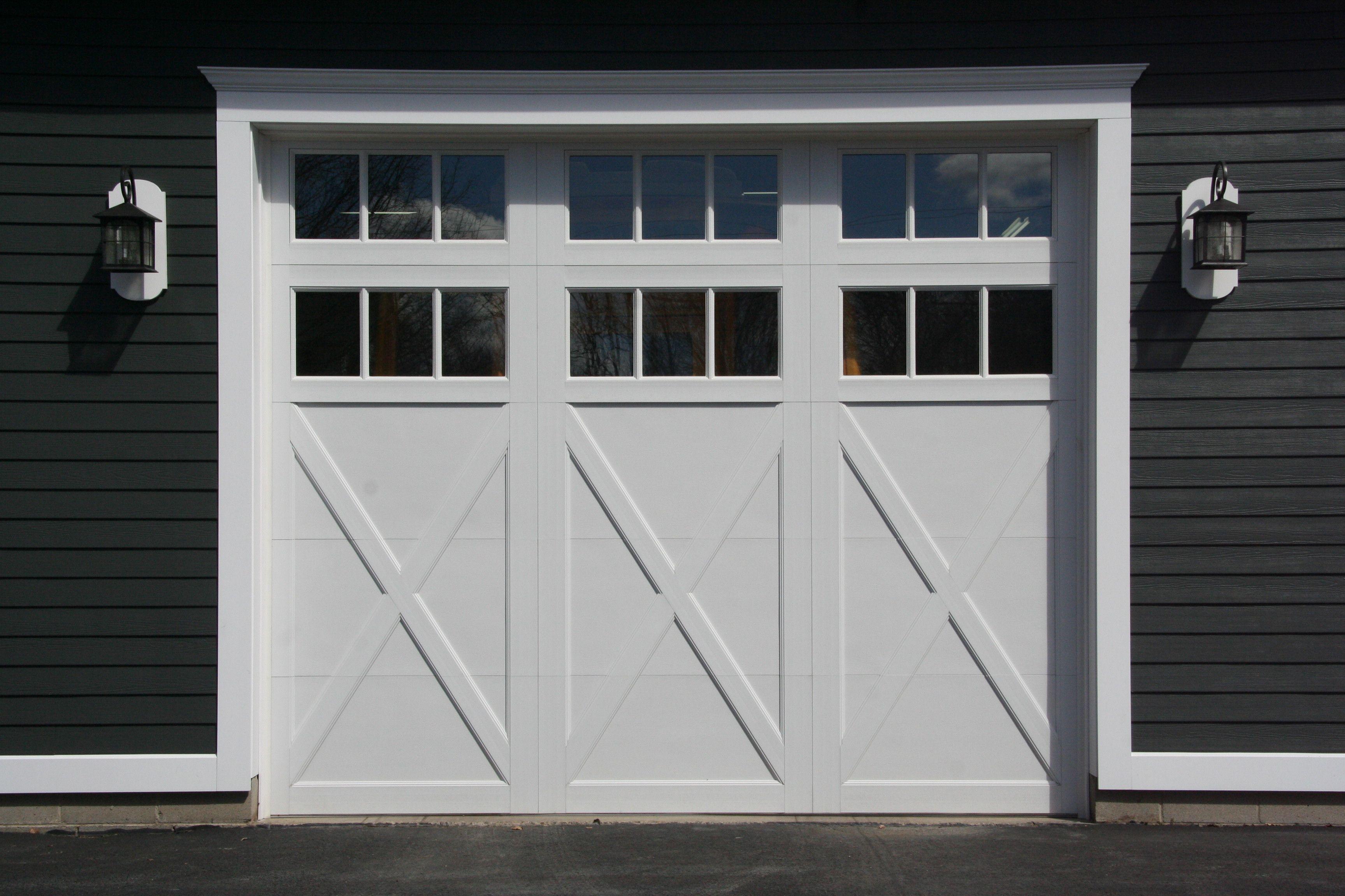 Raynor Garage Doors Rockcreeke Model With Two Rows Of Windows