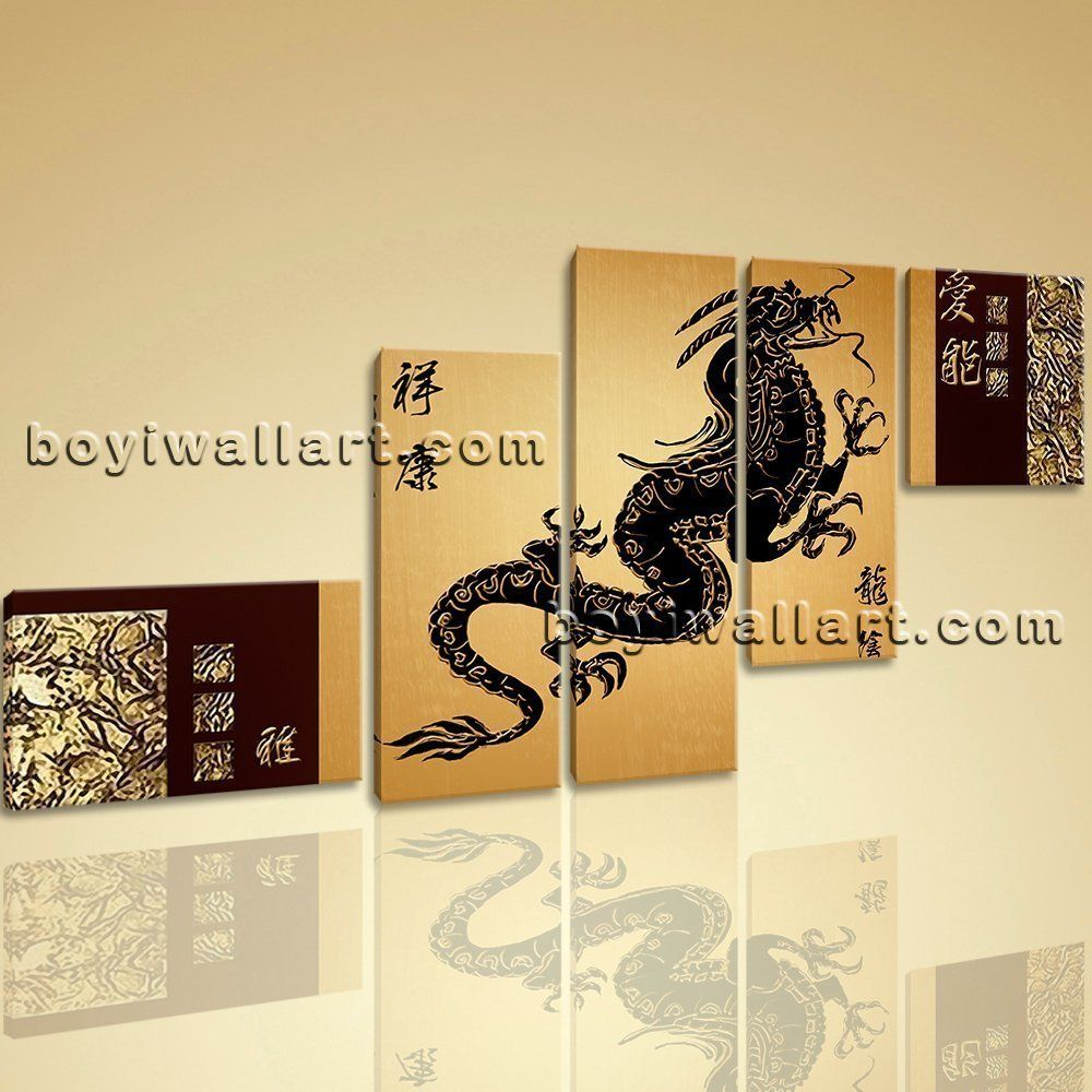 Large Contemporary Home Room Decor Wall Art Canvas Print Feng Shui ...