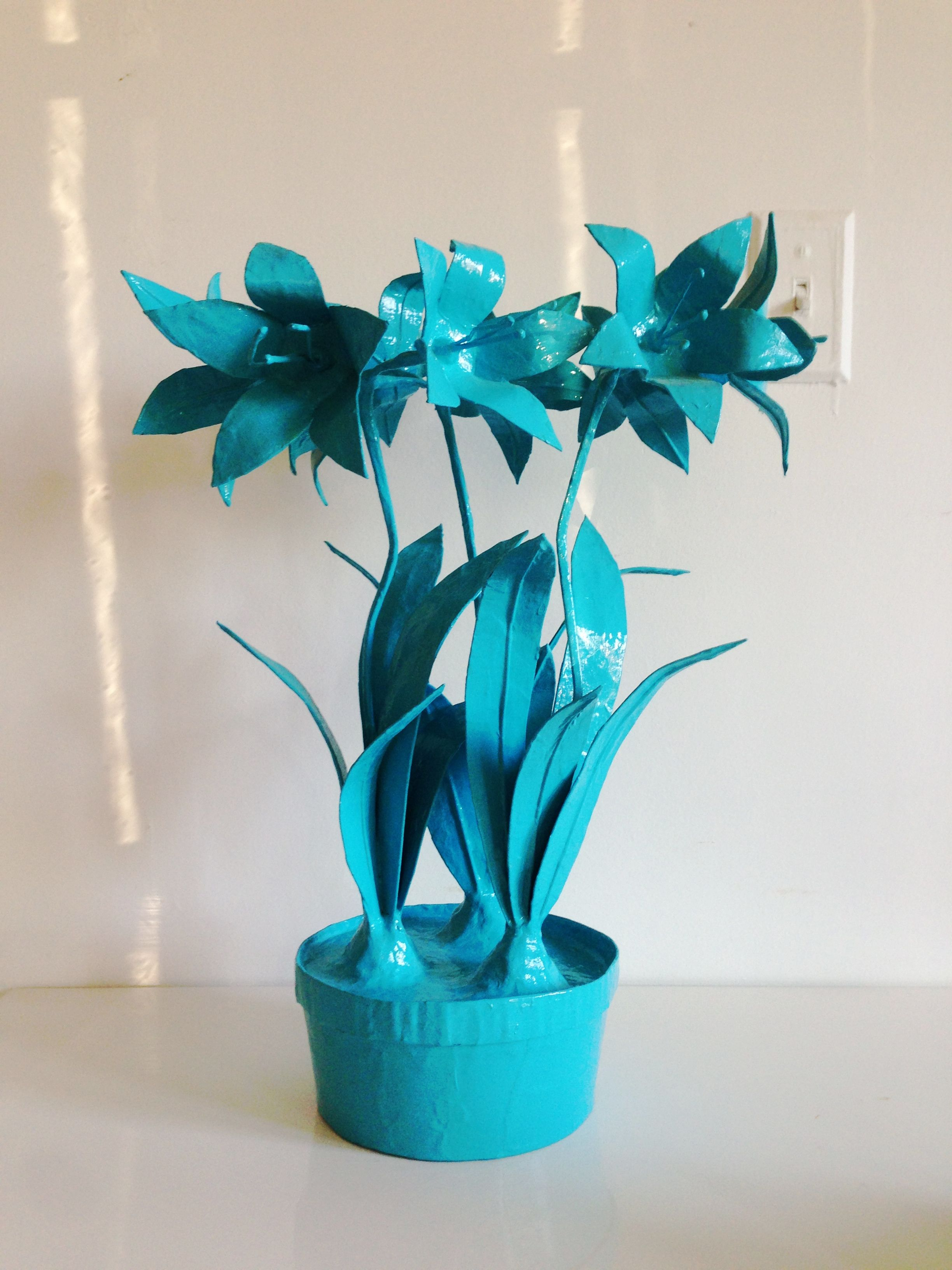Stray Dog Designs Papier Mch Flower Pot Things We Stock In The