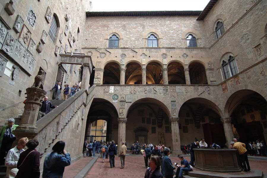 Patio del Museo Nazionale del Bargello