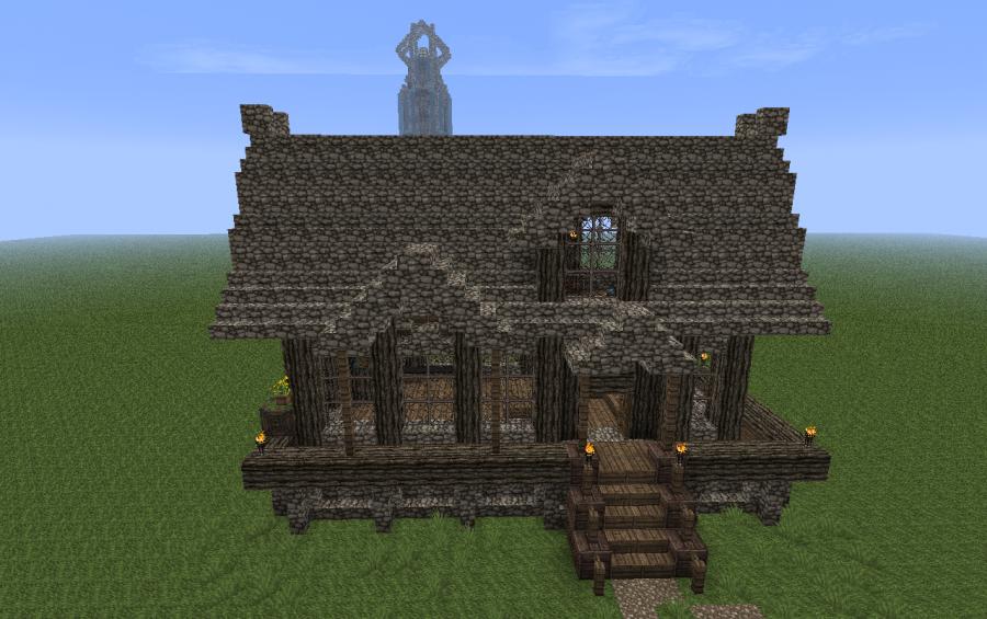 Minecraft Medieval House Google S 248 Gning Minecraft