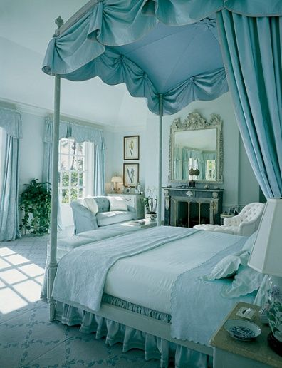 simply one of the prettiest bedrooms i've ever seen. serene