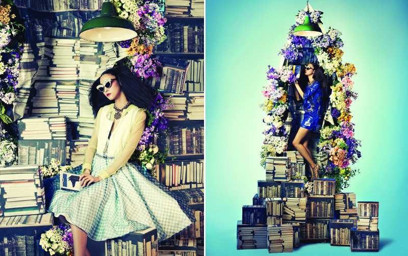 Category: Editorials  Tags: Bosung Kim, Chanel, Dior, Ji Hye Park, June 2012, Prada, Seo Young Hui, Vogue Korea