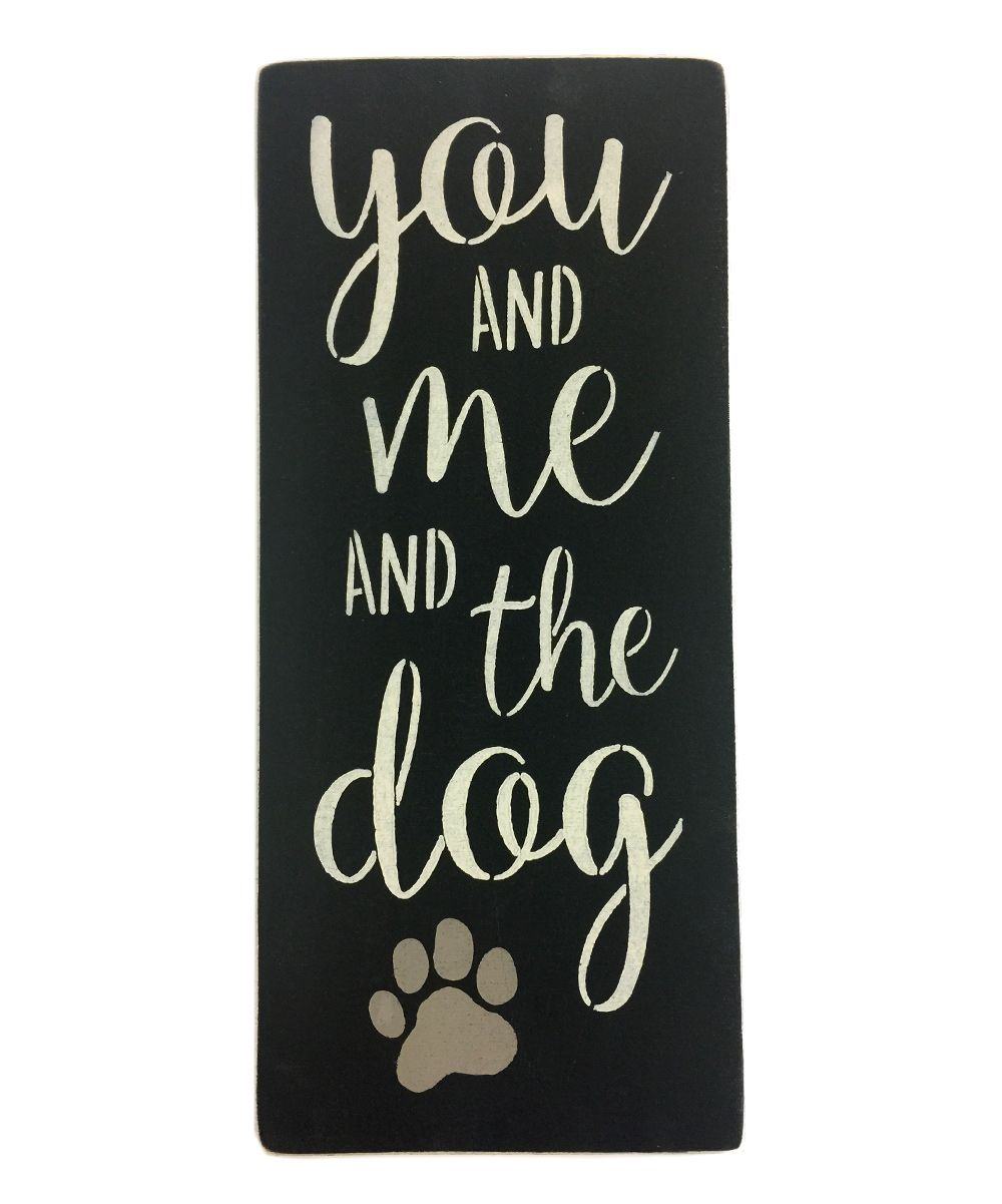 You Me And The Dog Wall Art