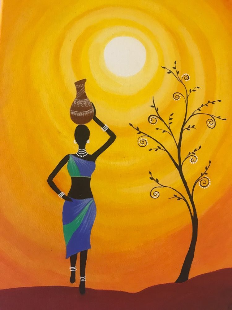 Easy Painting African Art