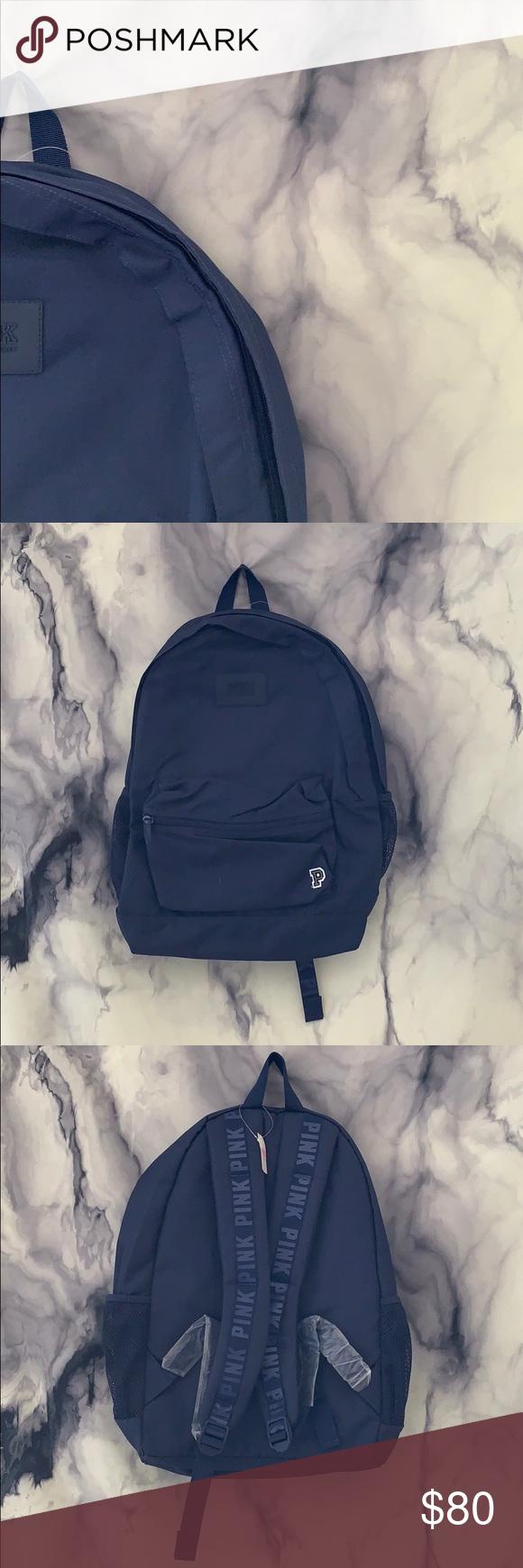 🆕 PINK Oceanic Blue Campus Backpack PINK VICTORIA SECRET  bookbag Brand new, … – My Posh Closet