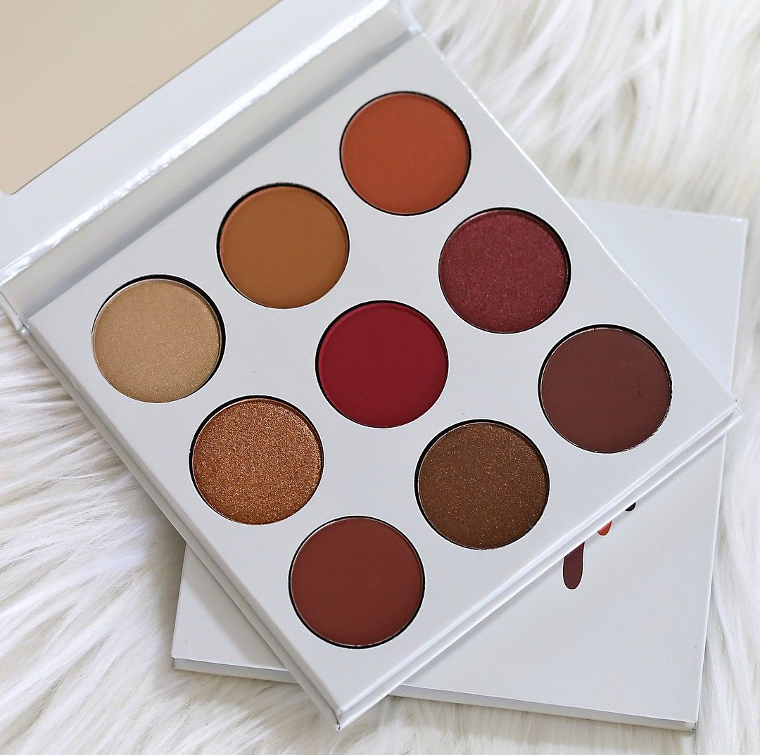 The BURGUNDY PALETTE from Kylie Cosmetics. (With images