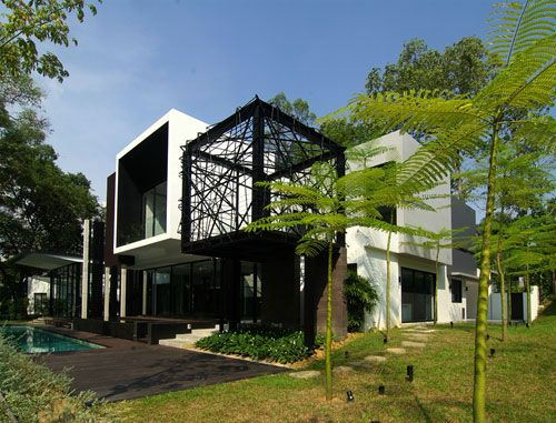 The Cubic House by Zarch Collaboratives