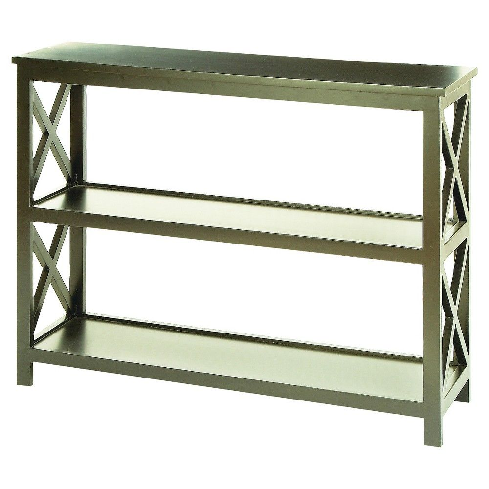 Grand Wood Console Table 39 W X 32 H Gray Woodland