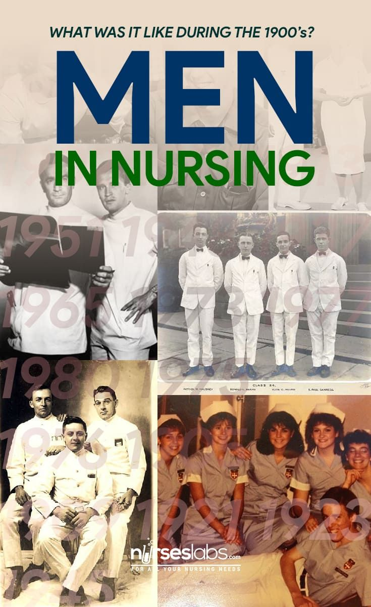 Men in Nursing What Was It Like During the 1900's? Male
