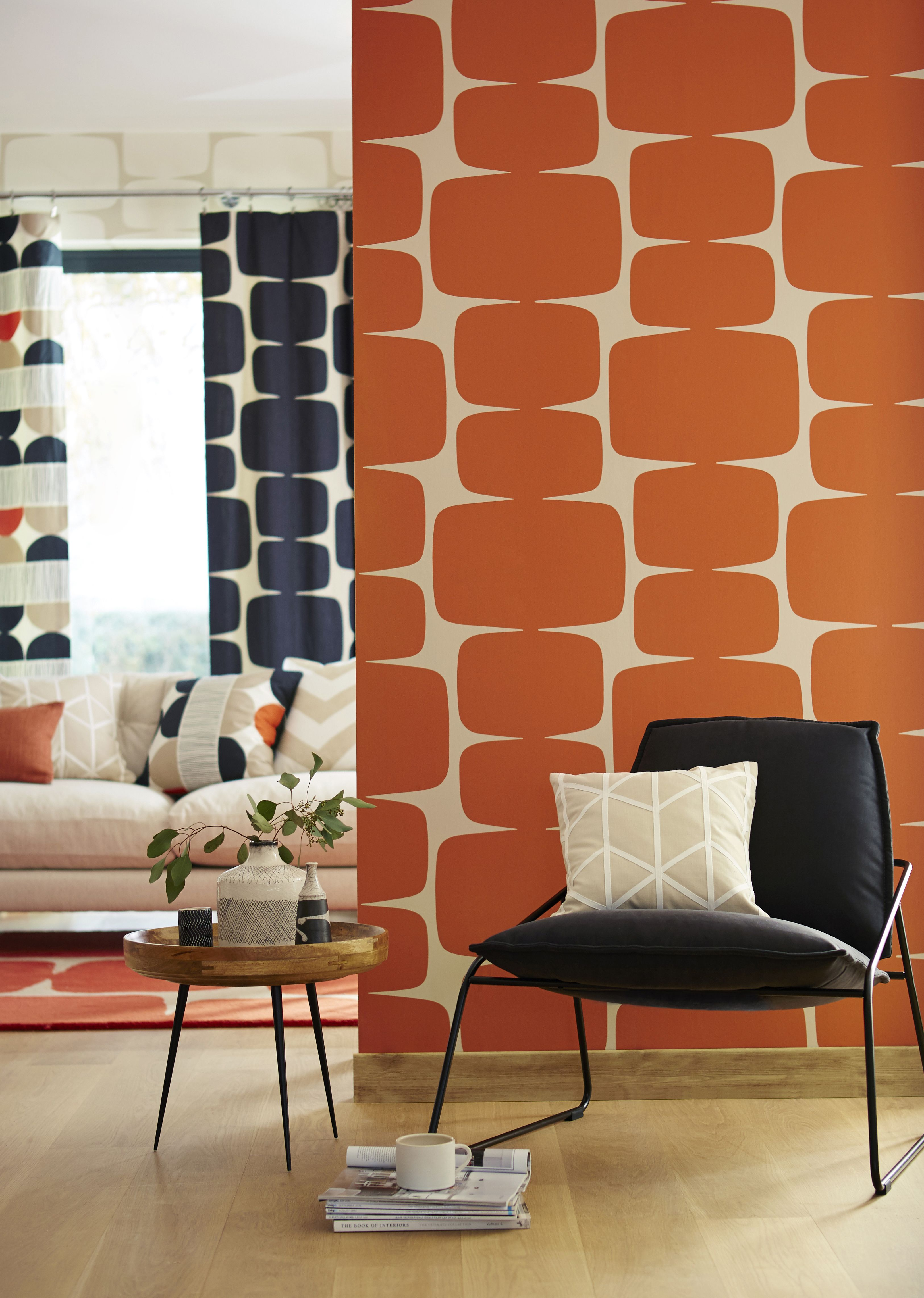 Red Wallpaper Designs For Living Room Pin By Hertex Fabrics On Living Room Pinterest The Ojays