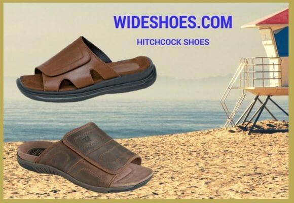 Wide width sandals, Wide shoes for men