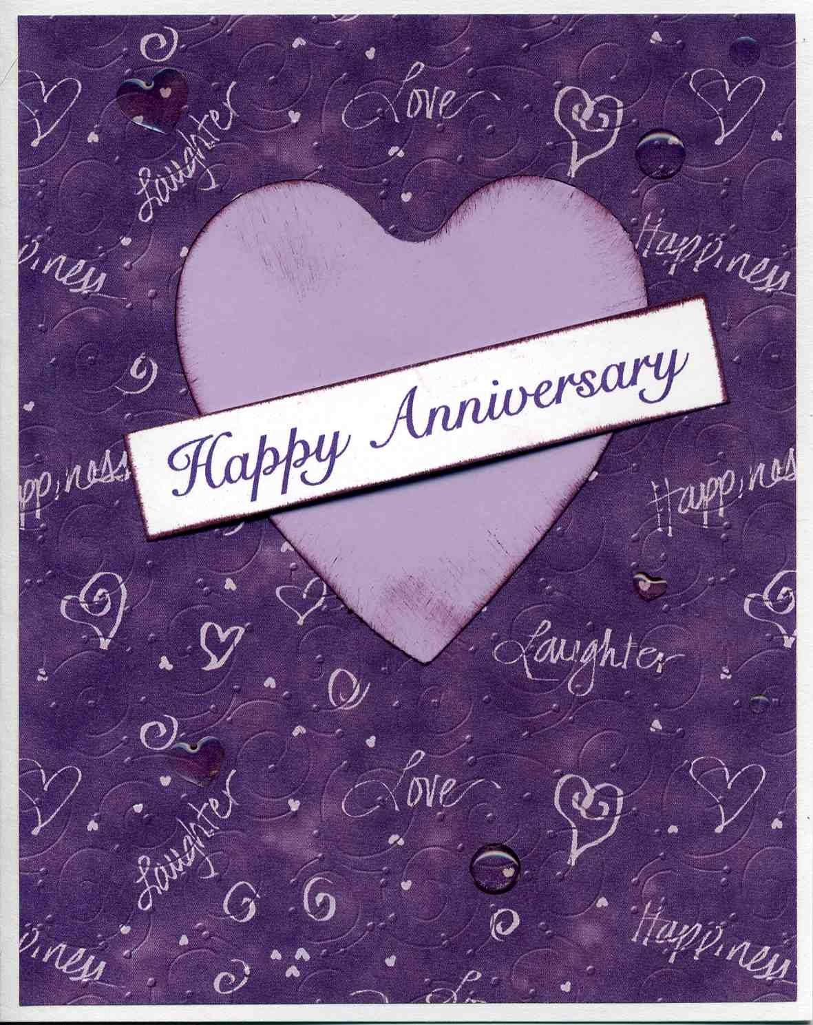 Happy anniversary graphics up in the sky look its a bird handmade purple color anniversary card with banner that says happy anniversary on front optional couples names on the front in place of happy anniversary kristyandbryce Images