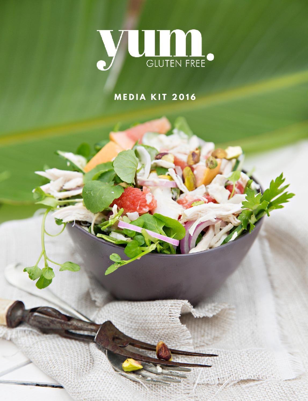 #ClippedOnIssuu from yum. Gluten Free Media Kit 2016