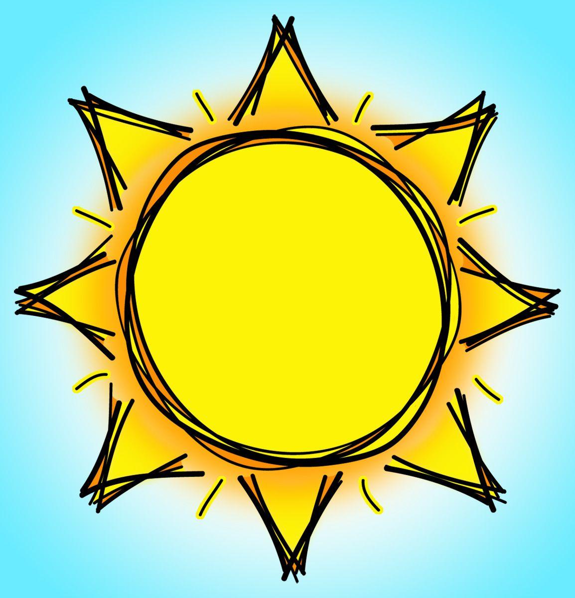 hight resolution of sun clipart