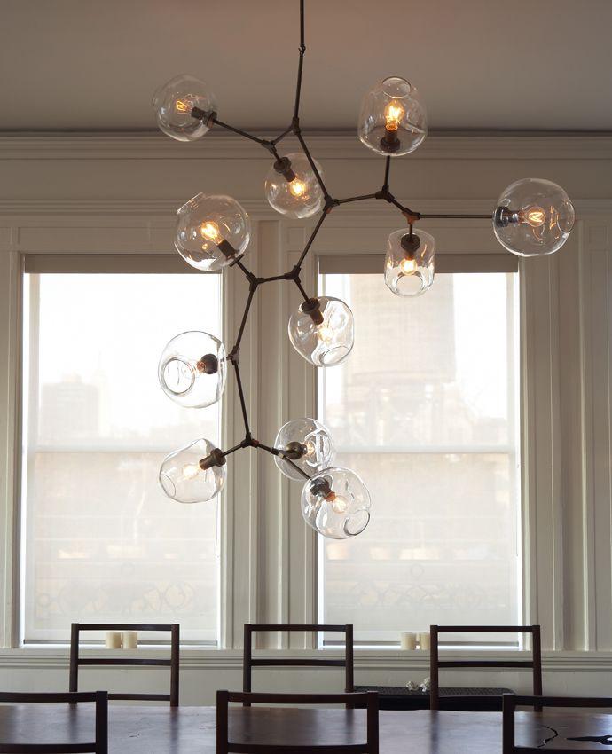 Seriously amazing custom lighting Lindsey Adelman