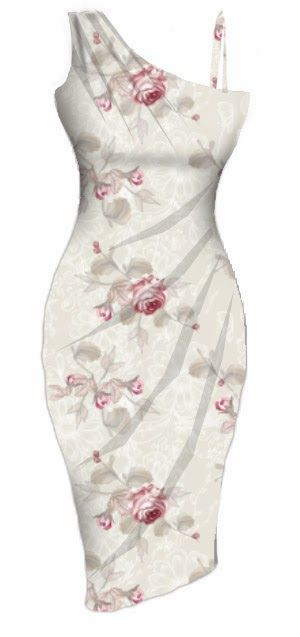 rockabilly style floral dress #pinup #bombshell