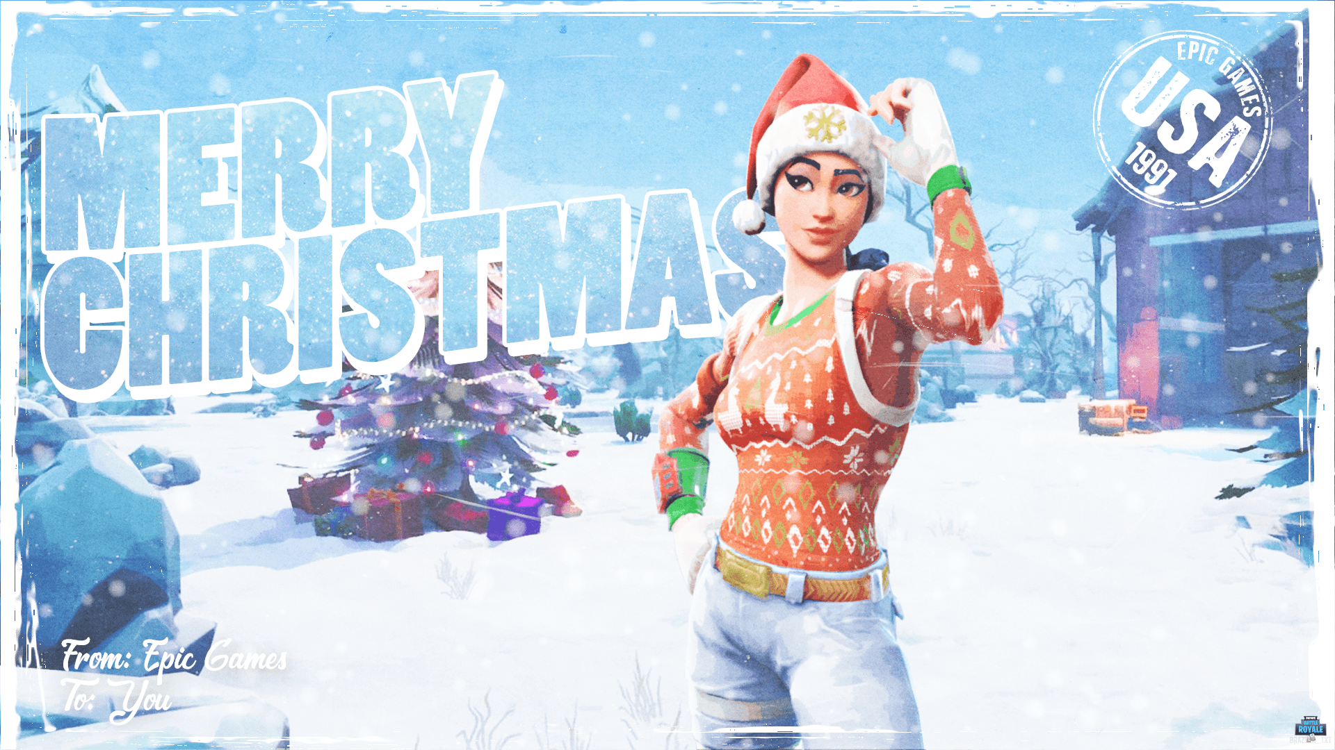 1920x1080 It S Always Christmas In Fortnite 1080p Wallpaper Fortnitebr Christmas Wallpaper 1080p Wallpaper Background Images Wallpapers