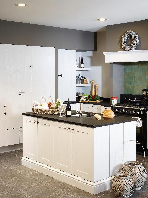 14 inrichtingstips voor een kleine keuken foto landelijke keuken wit - Kleine keuken ...