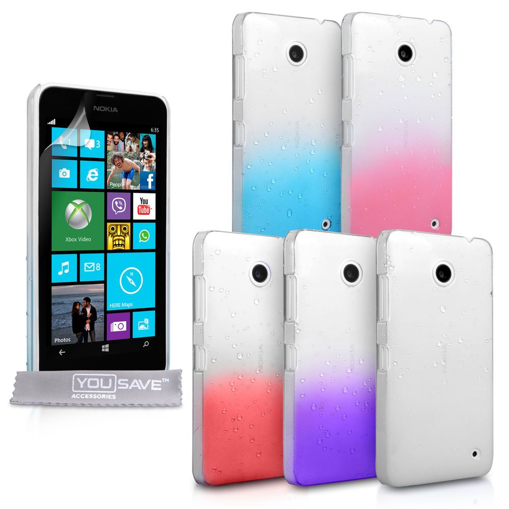 new product 2986e 09b94 Details about Yousave Accessories For The Nokia Lumia 630 Stylish ...