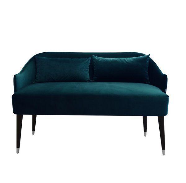 Super Emi Velvet Loveseat In 2019 Living Room Inspiration Ncnpc Chair Design For Home Ncnpcorg