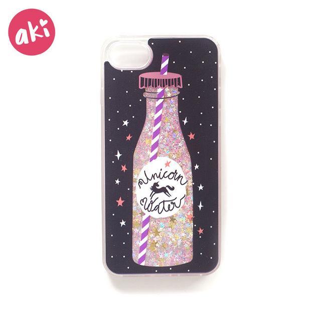 AKI Glitter Liquid Phone Case for