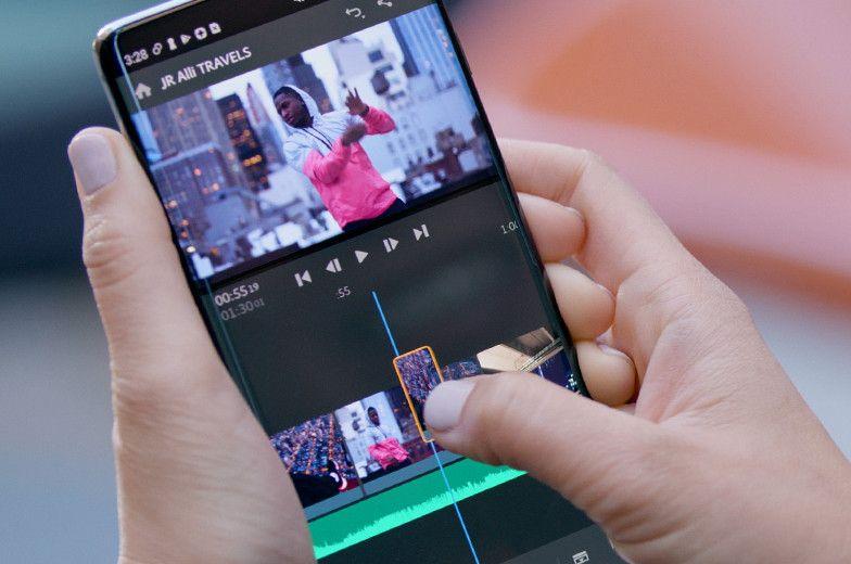 Adobe Premiere Rush Debarque Enfin Sur Android Aplicativo Para