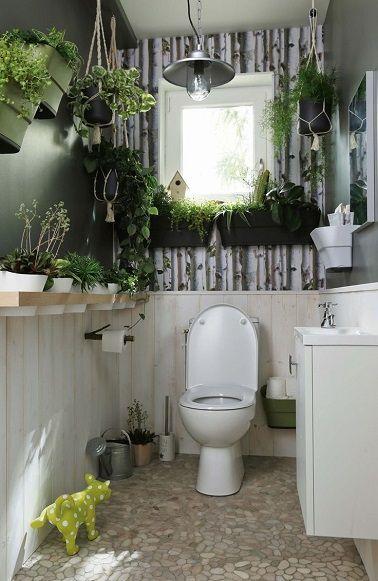 Zen la Déco WC ambiance végétale en 2019