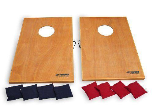 Surprising Triumph Sports Led Solid Wood Tournament Bag Toss By Triumph Short Links Chair Design For Home Short Linksinfo